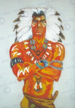 Indianerhaeuptling