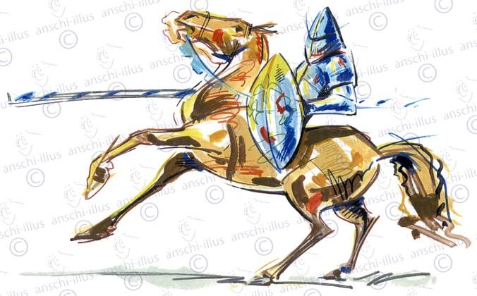 Ritter_auf_Pferd